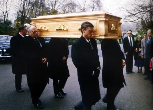 Freddie's funeral