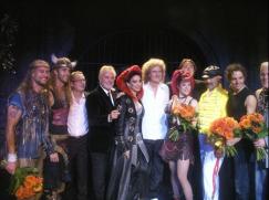 Bri, Rog i Jim na scenie WWRY w Utrechcie