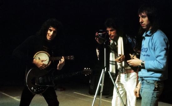 Brian, Freddie & Peter Straker