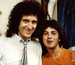 Brian May and fan