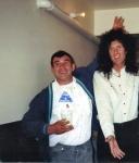 Brian May and Jim Hutton