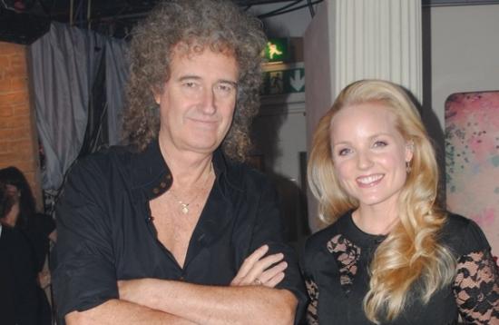 Brian May and Kerry Ellis