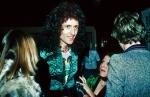 Brian May at party