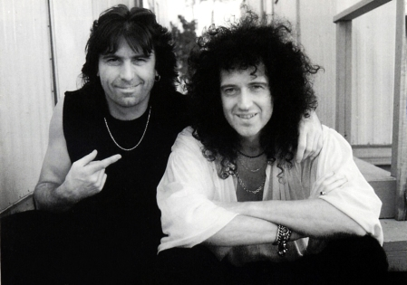 Cozy Powell i Brian May