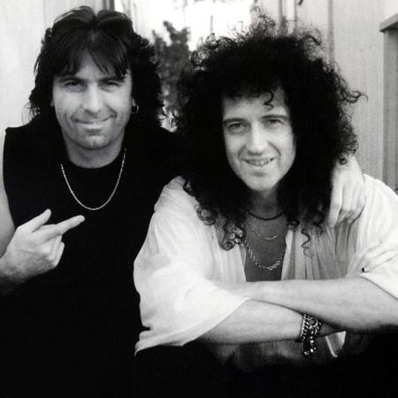 Cozy Powell i Brian May