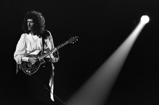 Brian May in 70's