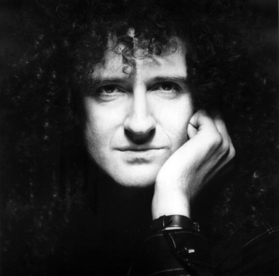Brian May Portrait