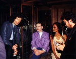 Brian May with Gary Numan