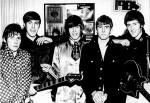 1984 podczas Battle of the Bands, od lewej: Tim Staffell (wokal), Dave Dilloway (gitara basowa), Richard Thompson (perkusja), John Graham (gitara rytmiczna) i Brian May (gitara prowadząca); Top Rank Club, Croydon, wrzesień 1967 r.