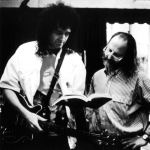 Brian May with ...