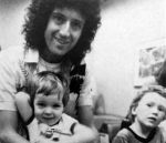 Brian with son, Jimmy, and Robert Deacon