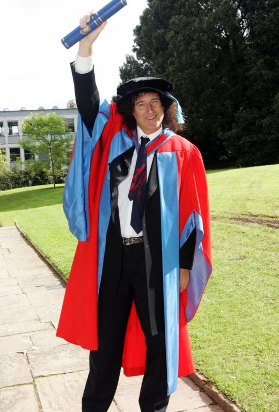 Dr Brian May
