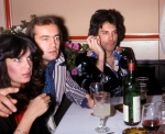 Freddie Mecury of Queen concert and post party at the Aladdin Hotel. Singer Joni Mitchell at a charity tennis event.