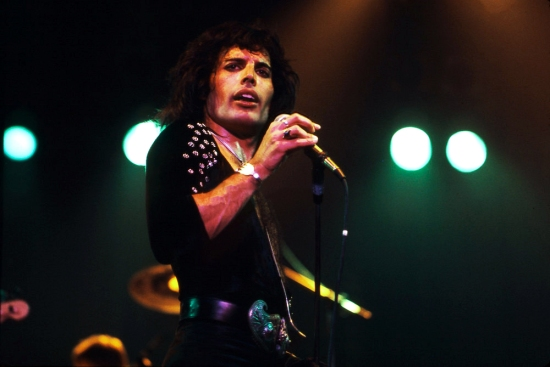 QUEEN,  LIVE 1975, NEIL ZLOZOWER.Photo Credit: NEIL ZLOZOWER/ATLASICONS.COM