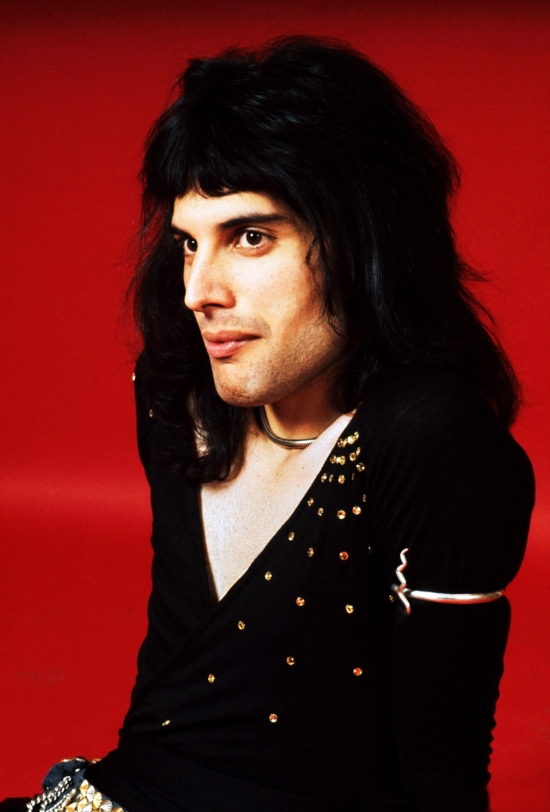 Freddie A.D. 1973 – First Studio Shoot (Photo by Michael Putland) (1)