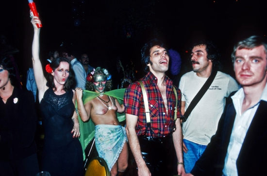 Freddie and Paul Prenter at party in New Orleans
