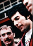 Freddie and  Paul Prenter (his assistant)