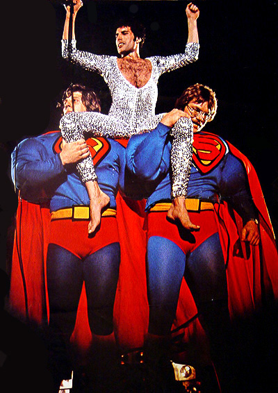 Freddie and Supermen