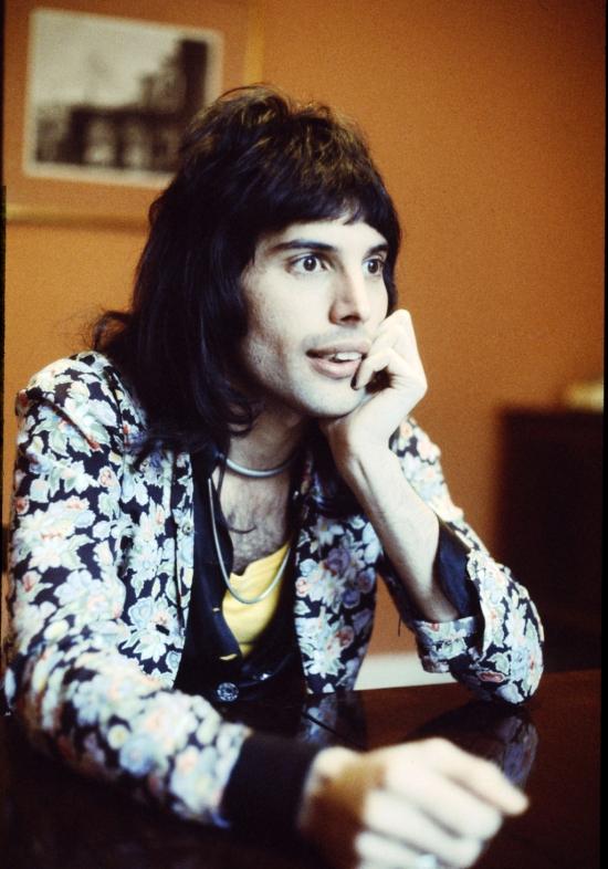 Freddie in 1974