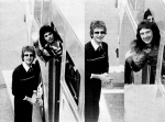 Freddie Mercury and John Deacon in Japan (Music Life)