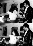 Freddie Mercury and some girl