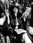 Freddie Mercury, Barrie Wentzell's studio, Soho, London 1974