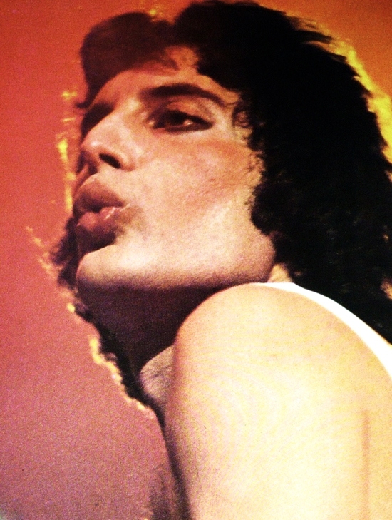 Freddie Mercury circa 1976