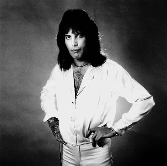 Freddie Mercury in 1975