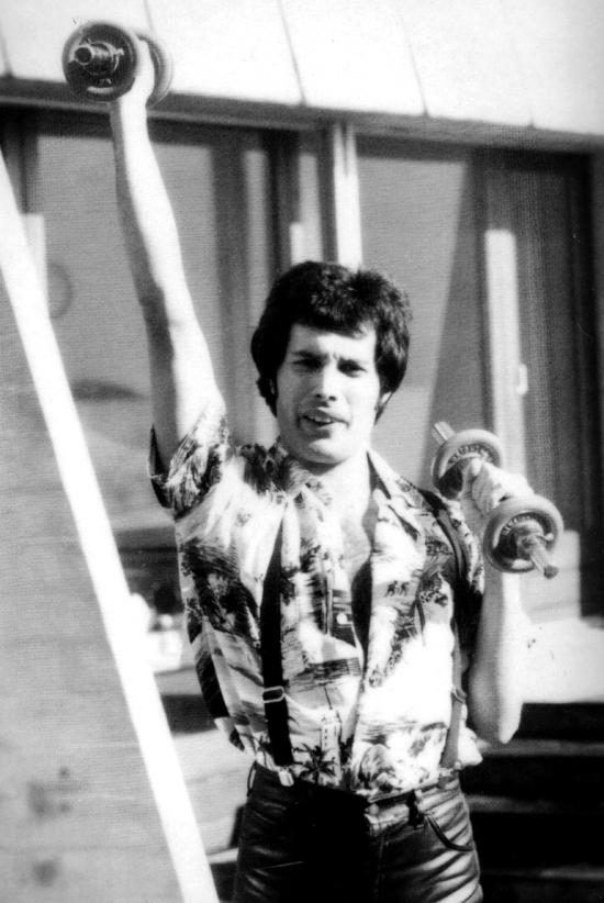 Freddie Mercury in Montreux, 1978