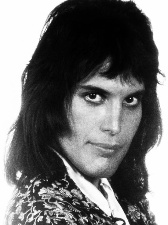 Freddie Mercury in 70's
