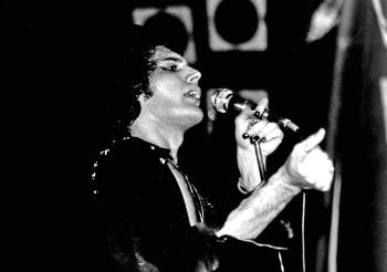 Freddie Mercury in Brisbane 1976