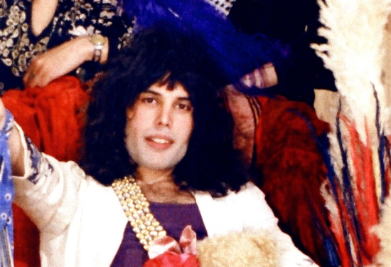 Freddie Mercury in early 70's