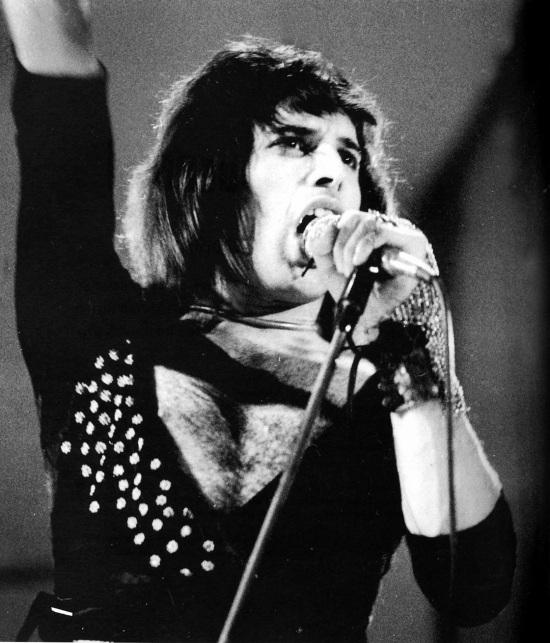 Freddie Mercury in Helsinki, 1974