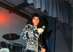 Freddie Mercury on stage in early 70's