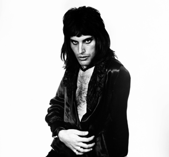 Freddie Mercury - Photo by Mick Rock