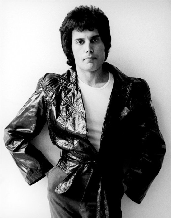 Freddie Mercury circa Jazz