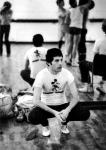 Freddie Mercury prepering for The Royal Ballet in 1979