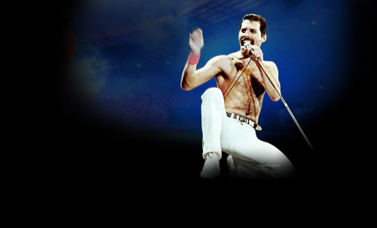 Freddie Mercury - Rock Montreal Wallpaper