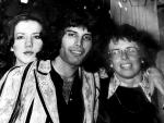 Freddie Mercury with  Billie Jean King, 1975