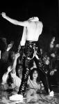 Freddie on stage in 1979