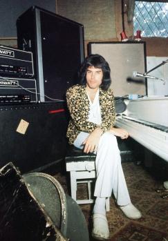 Freddie w Ridge Farm, 1975; fot.: Watal Asanuma