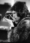 Freddie takes a Polaroid, circa 1977
