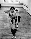 Freddie with Royal Ballet, 1979