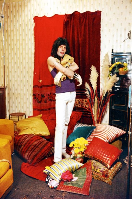 Freddie with Teddie