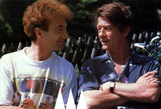 John Deacon and John Hurt
