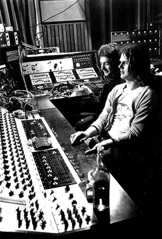 John Deacon and Mike Stone