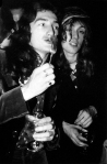 John Deacon and Roger Taylor from Queen