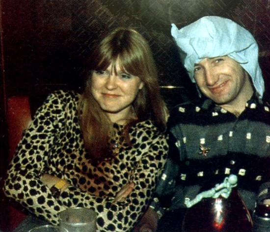 John Deacon and Veronica Tetzlaff (his wife)
