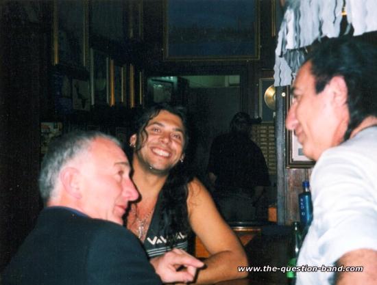 Bar Lanzarote, Wyspy Kanaryjskie, 2004 r. (z zespołem The Question)