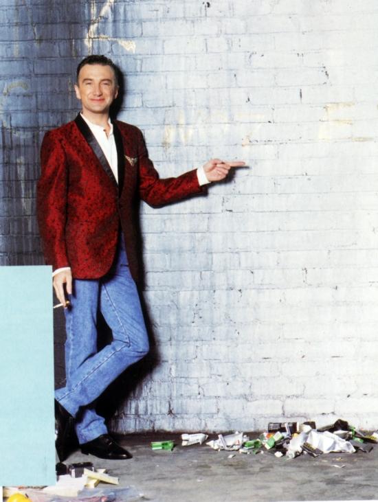 John Deacon of Queen in 1995